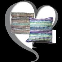 Ribbon and Pearls Pillow